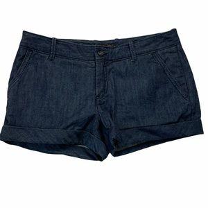 Aritzia Talula Chambray Denim Shorts